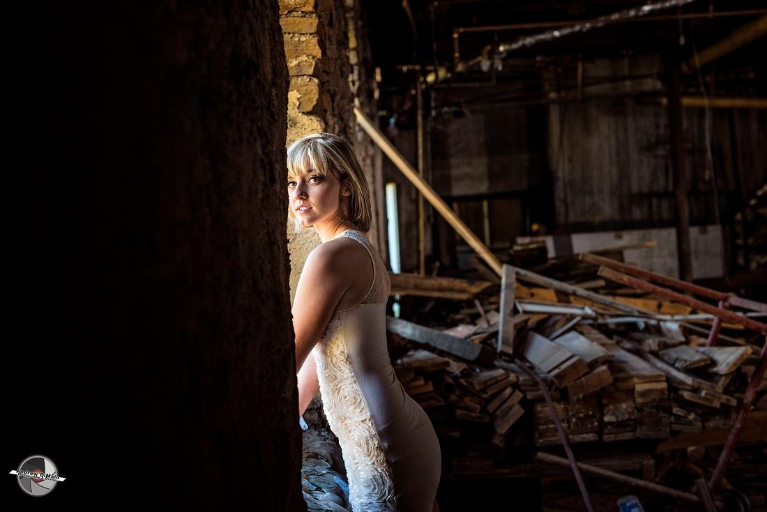 Andrew Dimaio Photography Jordan Horne Abandoned Building